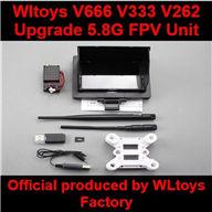 Wltoys V666 V333 V262 V912 RC Quadcopter parts WL toys V666 Upgrade 5.8G FPV Unit