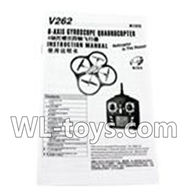WLtoys V666 RC Quadcopter parts WL toys V666 parts-29 Manual
