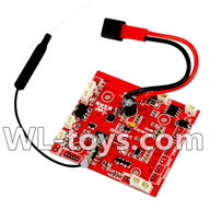 WLtoys V666 RC Quadcopter parts WL toys V666 parts-43 Circuit board,Receiver board
