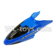 FODA F338 helicopter parts-01 Head cover (Blue) ,MingJi 604 rc helicopter parts