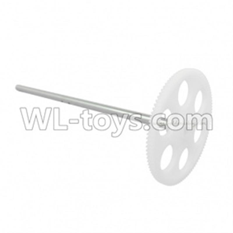 MingJi 604 rc helicopter parts ,FODA F338 helicopter parts-07 Lower main gear with hollow pipe