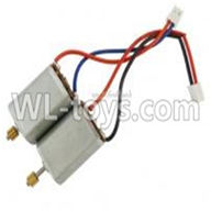 MingJi 604 rc helicopter parts ,FODA F338 helicopter parts-16 Main motor with gear(Long shaft & Short shaft)