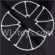 MJX X400 RC Quadcopter parts-06 Outer protect frame-White