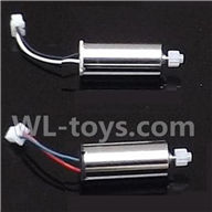 MJX X400 RC Quadcopter parts-08 Reversing-rotating Motor with White and Black wire(1pcs) & rotating Motor with Red and Blue wire(1pcs)