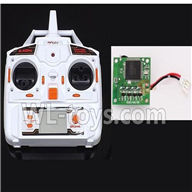 MJX X400 RC Quadcopter parts-18 Transmitter & Circuit board