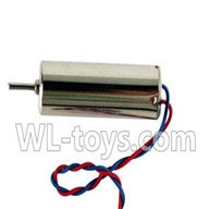 Double horse 9136 RC Quadcopter parts DH 9136 parts-05 rotating Motor with red and blue wire(1pcs)