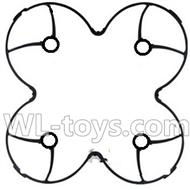 Double horse 9136 RC Quadcopter parts DH 9136 parts-06 Outer protect frame-Black