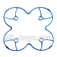 Double horse 9136 RC Quadcopter parts DH 9136 parts-07 Outer protect frame-Blue