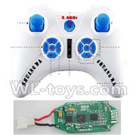 Double horse 9136 RC Quadcopter parts DH 9136 parts-08 Transmitter & Circuit board