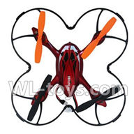Double horse 9136 RC Quadcopter parts DH 9136 parts-12 BNF-Red (Only quadcopter body,No battery,No charger,No Transmitter)