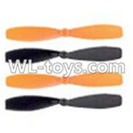 Double Horse 9137 RC Quadcopter parts, DH 9137 parts-01 Main rotor blades(4pcs)