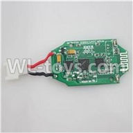 Double Horse 9137 RC Quadcopter parts, DH 9137 parts-08 Receiver board,Circuit board