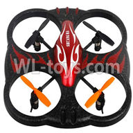 Double Horse 9137 RC Quadcopter parts, DH 9137 parts-14 BNF-Red(Only quadcopter body,No battery,No USB charger,No Transmitter)