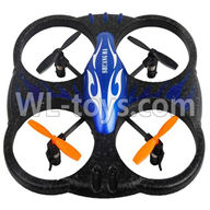 Double Horse 9137 RC Quadcopter parts, DH 9137 parts-15 BNF-Blue(Only quadcopter body,No battery,No USB charger,No Transmitter)