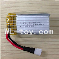 Skytech M62 RC Quadcopter Parts-05 Skytech M62 battery-3.7v 350mah battery