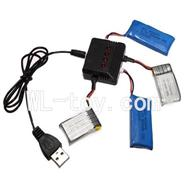 Skytech M62 RC Quadcopter Parts-18 upgrade 1-to-4 charger & balance-charger(Not include the 4 battery)