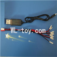 Skytech M62 RC Quadcopter Parts-19 USB & 1-to-5 Cable (Not include the 5 battery)