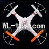 Skytech M62 RC Quadcopter Parts-21 BNF-With camera(Only Skytech M62 Quadcopter,No battery ,No charger,No Transmitter)