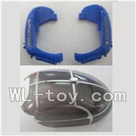 WLtoys V915 RC Helicopter Parts WL toys V915 model Part-01 Bottom shell cover