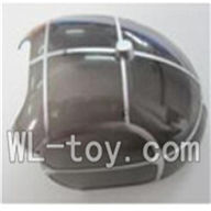 WLtoys V915 RC Helicopter Parts, WL toys V915 model Part-02 Upper shell cover