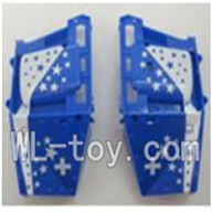 WLtoys V915 RC Helicopter Parts, WL toys V915 model Part-04 Shell cover for the helicopter body