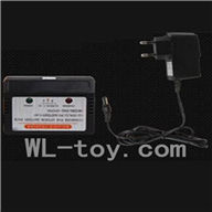 WLtoys V915 RC Helicopter Parts, WL toys V915 model Part-09 Official charger and balance charger