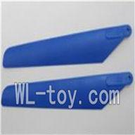WLtoys V915 RC Helicopter Parts, WL toys V915 model Part-11 Main rotor blade(2pcs)-Color Random