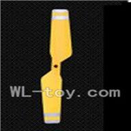 WLtoys V915 RC Helicopter Parts, WL toys V915 model Part-12 Tail blade(Color random)