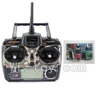 WLtoys V915 RC Helicopter Parts, WL toys V915 model Part-18 Transmitter & Circuit board,Receiver board