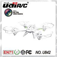 UDI U842 Large quadcopter 4 channel rc drone with HD camera, UDI U-842 UFO parts list