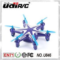 UDI U846 RC Quadcopter-2.4G 4CH 6 axis flying mini rc drone UFO,UDI U846 parts list