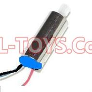 SongYang toys X1 Parts-20 Reversing-rotating Motor (The motor cover is Blue color) for SY X1 Quadcopter drone