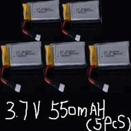 LH-X10 X10C X10WF Parts-21 Official 3.7v 550mah battery(5pcs) For Lead Honor LH-X10 LH-X10C LH-X10WF Quadcopter parts rc drone parts