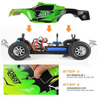 Wltoys A969 rc car rc racing car,1:18 Full-scale rc racing car(