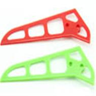 mjx f-45 -41 Tail Vertical fin plate (Green/Red)(1pcs),Mjx F45 F645 RC helicopter Parts,mjxrc toys MJX F645 helikopter Accessories