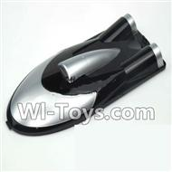 Feilun FT010 Parts-03 Upper cover,Upper canopy For Feilun FT010 Boat Parts,Brushless motor 2.4G rc racing boat