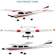 WLtoys F949 RC Plane Cessna 182 F949 RC Airplane Glider RC Fixed Wing Plane Parts