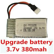 DFD F180 RC Quadcopter parts-10 Upgrade Battery 3.7v 380mah 25C,Fly more time,more power