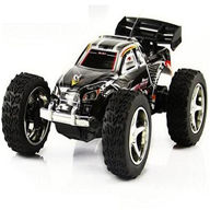 WLtoys 2019 rc car,Wltoys 2019 Mini High speed 1:32 Full-scale rc racing car,Updated Version 2019 2.4G Radio Control Truck,1:32 Scale-Black