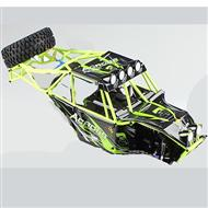 Wltoys 10428 Body shell unit,Whole Car shell unit(Include Car shell,All Rollcage)-K949-107,Wltoys 10428 RC Car Parts,High speed 1:10 Scale 4wd,10428 Electric Power On Road Drift Racing Truck Car Parts