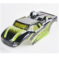 HBX 2128 Wildrider Body Shell Buggy Body Shell,Car shell-Green 28B02,HaiBoXing HBX 2128 RC Car Parts 1/24