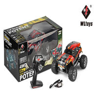 WLtoys 18405 rc car,Truck rock crawler racing buggy,Wltoys 18405 High speed 1:18 Full-scale rc racing car,1: 18 Nini Electric four-wheel-climbing car with Brake Function