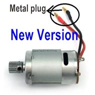SuBotech BG1513 DJC01 New version Main motor with motor gear(Plug is Two Metal hole plug ),Subotech BG1513 RC Car Spare parts Accessories,1:12 4WD BG1513 RC Racing Car parts,High Speed Drifting Buggy Parts