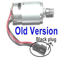 SuBotech BG1518 Car Parts-DJC01 Old version Main motor with motor gear and Black plug,Subotech BG1518 RC Car Spare parts Accessories,1:12 4WD BG1518 RC Racing Car parts,High Speed Drifting Buggy Parts