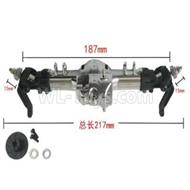 HG P601 Upgrade Parts-Metal front gearbox assembly Parts-HG Parts-BX02M,HG P601 tuning 6x6 1/10 Parts