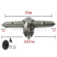 HG P601 Upgrade Parts-Metal Rear gearbox assembly Parts-HG Parts-BX03M,HG P601 tuning 6x6 1/10 Parts