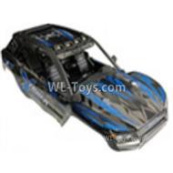 XinLeHong Toys Q902 Body Shell Cover-Blue,XinLeHong Toys Q902 Parts