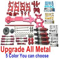 Wltoys 14401 Parts-Upgrade All Metal Parts Assembly-Total 20 kit,5 Color you can choose
