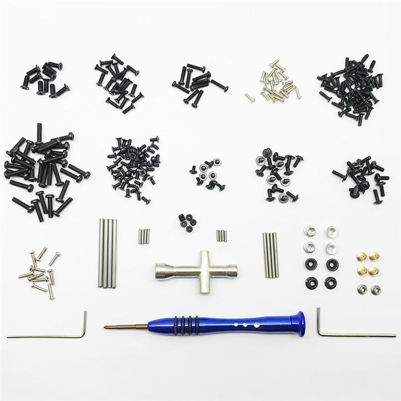 Wltoys 144001 All Screws Set, Screws driver, Pins, Nut, etc.