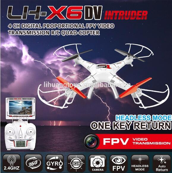 Lead Honor LH-X6DV Quadcopter-Option4(Include the HD